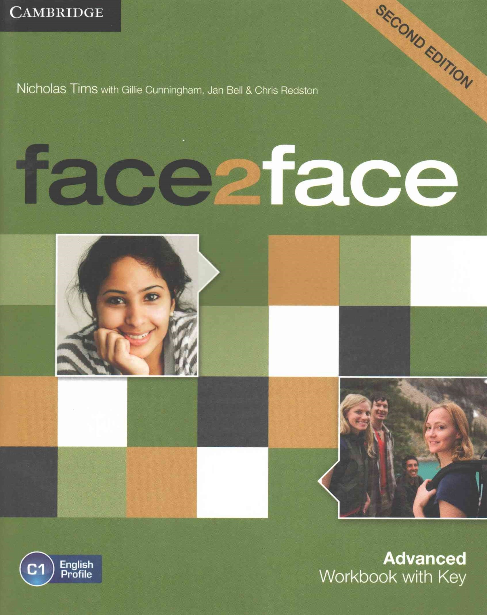 face2face Advanced Workbook with Key