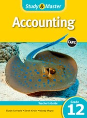 Study & Master Accounting Teacher's Guide