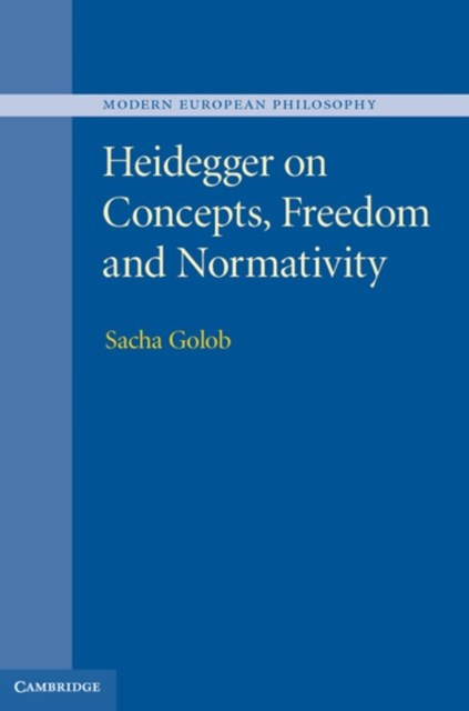 (ebook) Heidegger on Concepts, Freedom and Normativity
