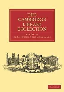 Cambridge Library Collection 475 Set - Reference
