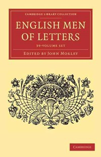 English Men of Letters 39 Volume Set - Reference