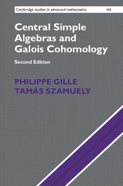 (ebook) Central Simple Algebras and Galois Cohomology