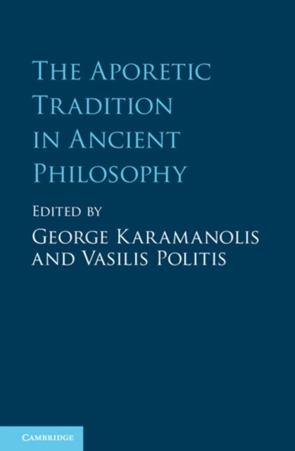 (ebook) Aporetic Tradition in Ancient Philosophy