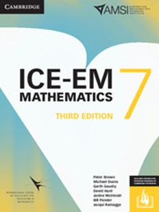 ICE-EM Mathematics 3ed Year 7 Print Bundle (Textbook and Interactive Textbook) - Education
