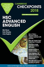 Cambridge Checkpoints HSC Advanced English 2018 and Quiz Me More