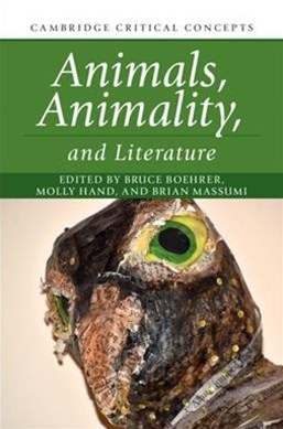 Animals, Animality, and Literature