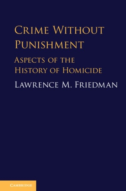 (ebook) Crime Without Punishment