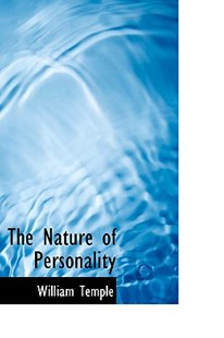 The Nature of Personality by William Temple Sir (9781110697304) - HardCover - History