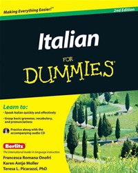 Italian for Dummies, 2nd Edition with CD