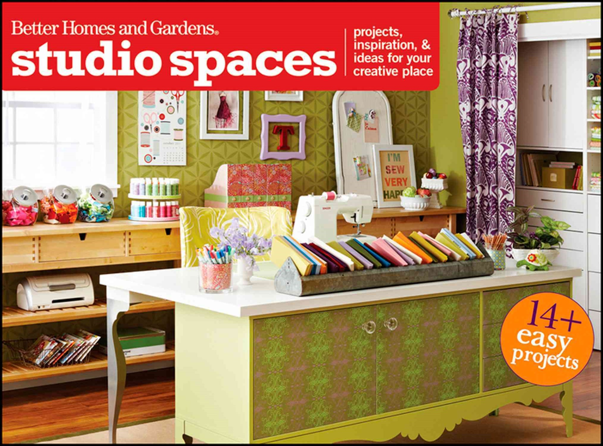 Studio Spaces: Better Homes and Garden