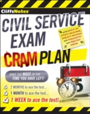 (ebook) CliffsNotes Civil Service Exam Cram Plan