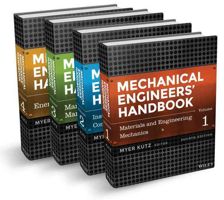 Mechanical Engineers' Handbook, Fourth Edition Set (4 Volumes)