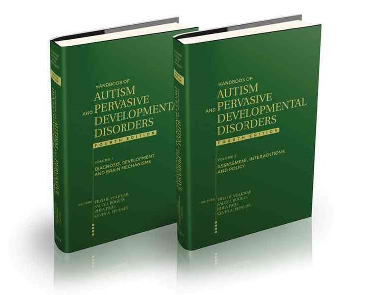 Handbook of Autism and Pervasive Developmental Disorders, Fourth Edition Set