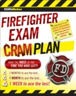(ebook) CliffsNotes Firefighter Exam Cram Plan