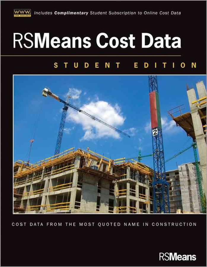 Rsmeans Cost Data, Student Edition W/Website