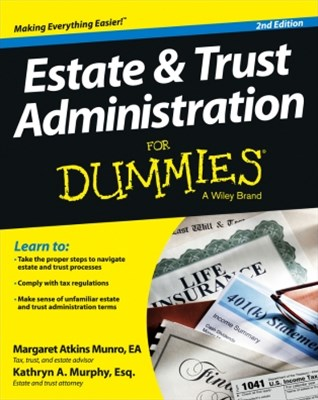 (ebook) Estate and Trust Administration For Dummies
