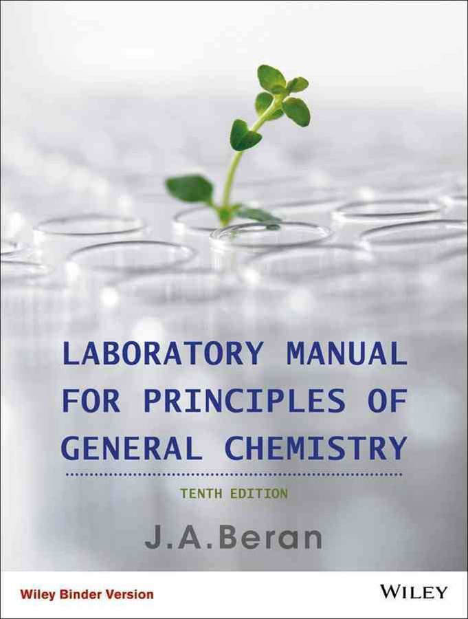 Principles of General Chemistry 10E Binder Ready  Version Laboratory Manual