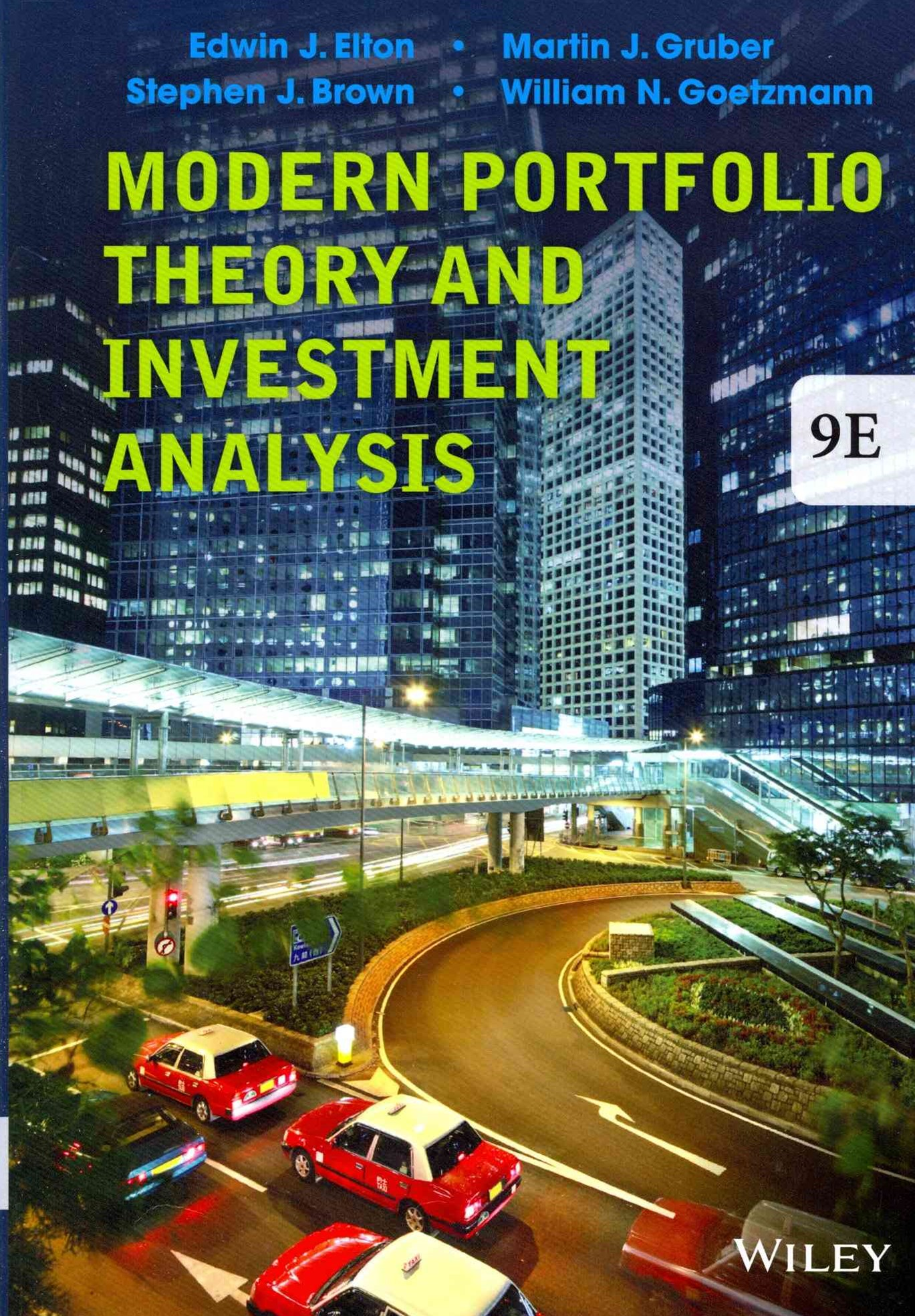 Modern Portfolio Theory and Investment Analysis 9E