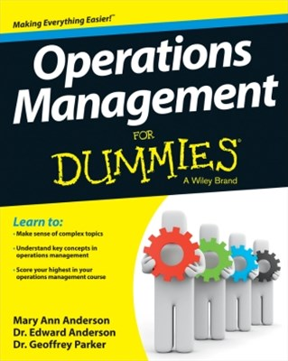 (ebook) Operations Management For Dummies