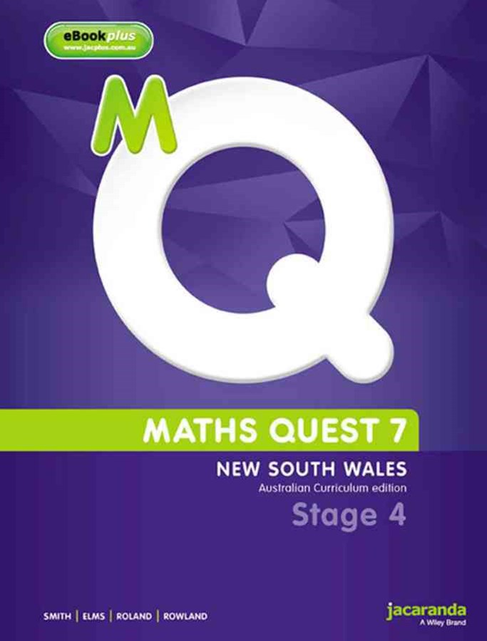 Maths Quest 7 for New South Wales Australian Curriculum Edition & eBookPLUS