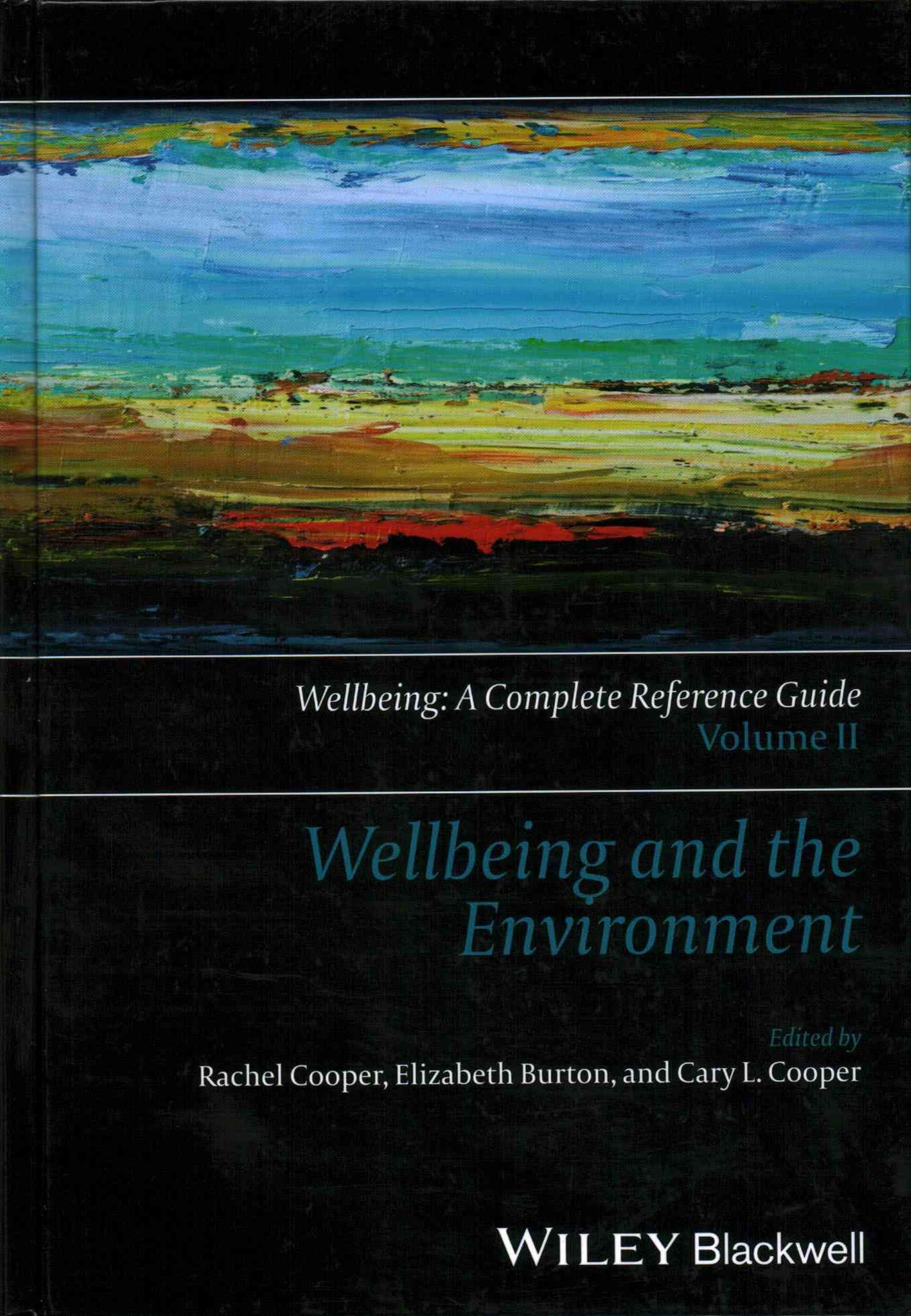 Wellbeing and the Environment - Wellbeing - a     Complete Reference Guide,  Vol 2