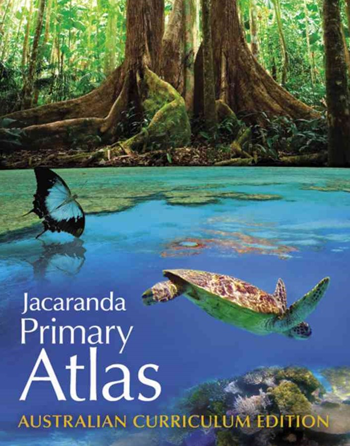 Jacaranda Primary Atlas Australian Curriculum Edition