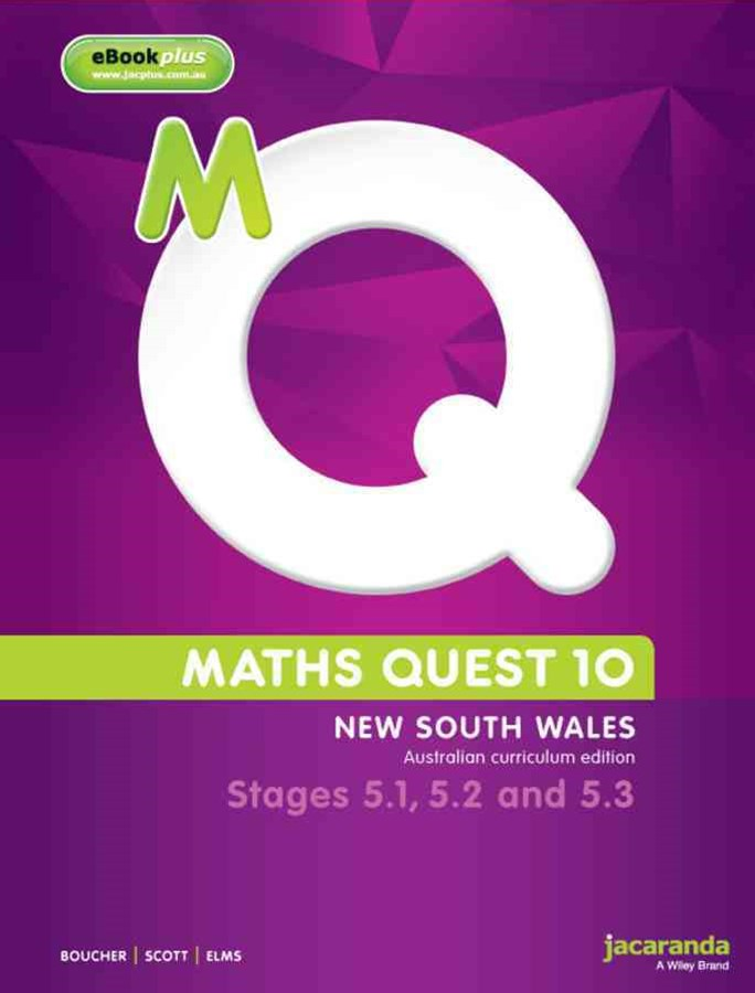 Maths Quest 10 for NSW 5.1/5.2/5.3 Pathway Australian Curriculum Edition & eBookPLUS