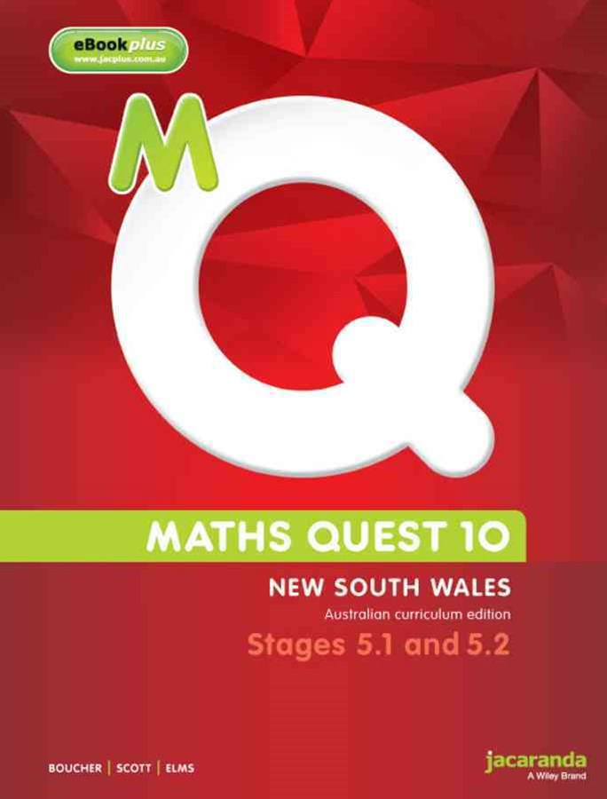 Maths Quest 10 for NSW 5.1/5.2 Pathway Australian Curriculum Edition & eBookPLUS