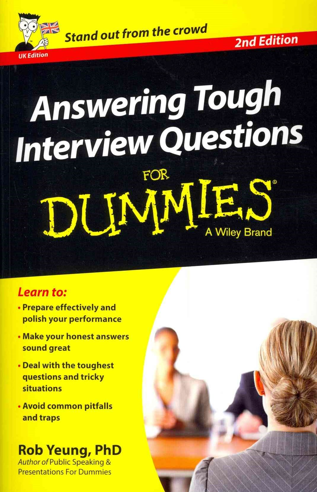 Answering Tough Interview Questions for Dummies 2E UK