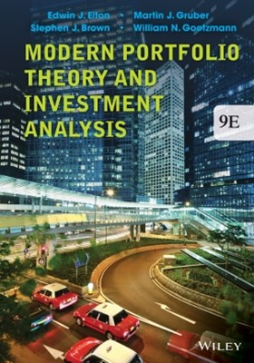 (ebook) Modern Portfolio Theory and Investment Analysis