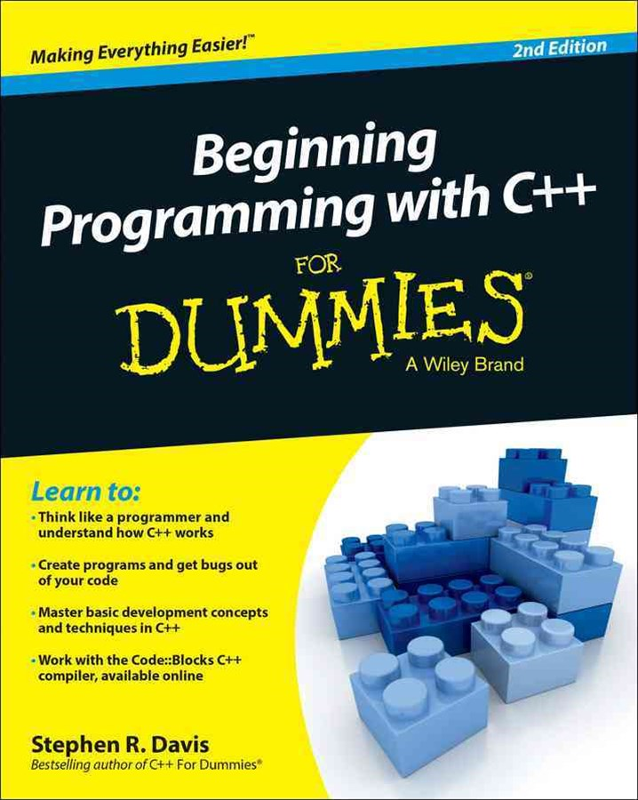 Beginning Programming with C++ for Dummies-«