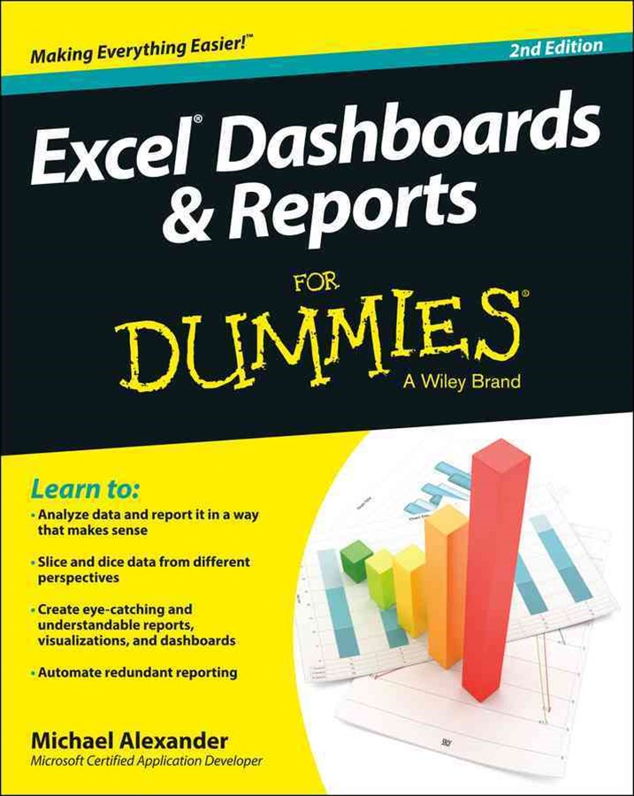 Excel Dashboards & Reports for Dummies, 2nd Edition