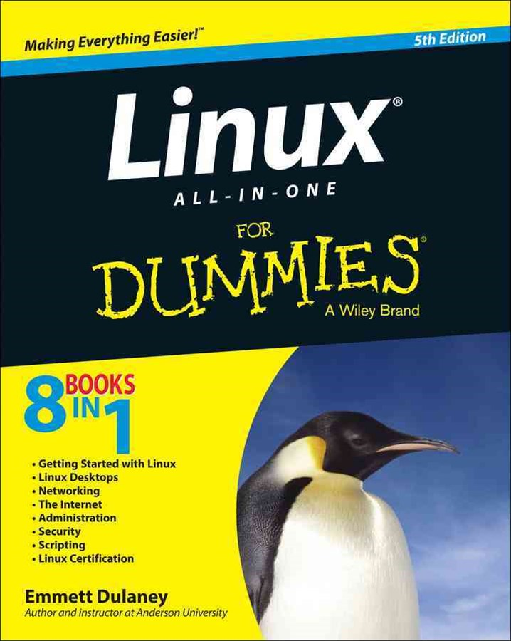 Linux All-In-One for Dummies®, 5th Edition