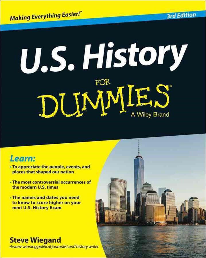 US History for Dummies, 3rd Edition