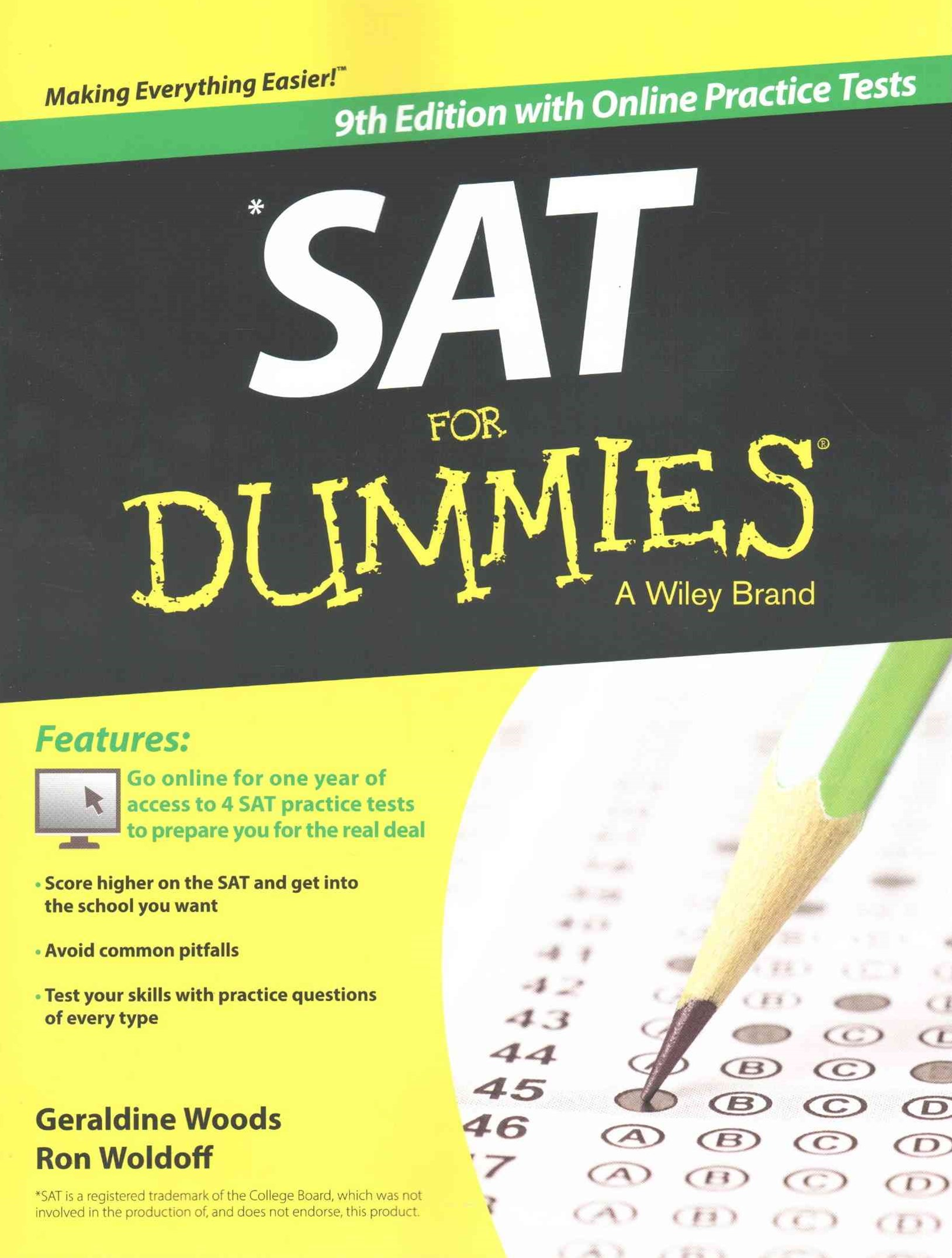 Sat for Dummies, 9th Edition with Online Practice