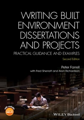 (ebook) Writing Built Environment Dissertations and Projects