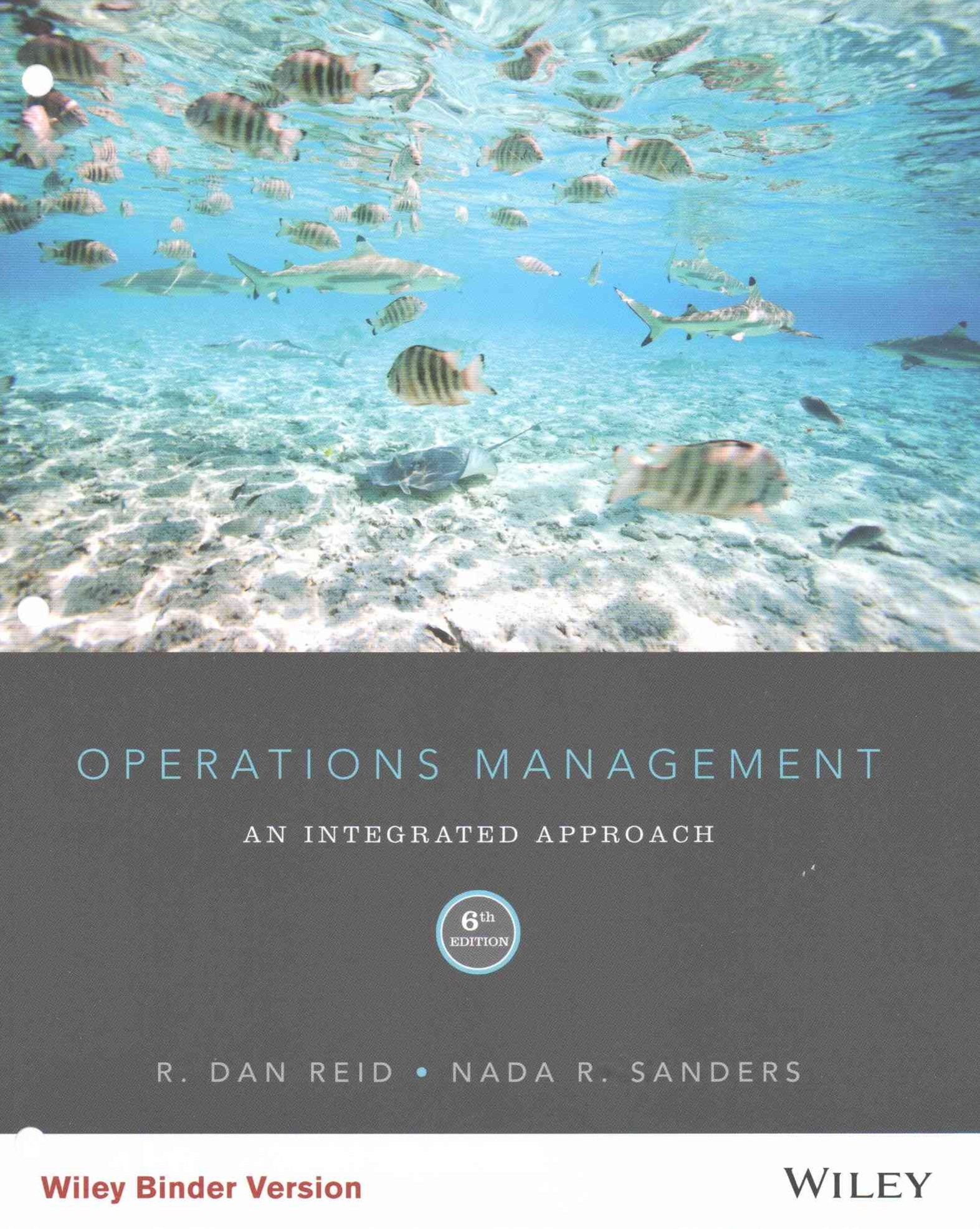Operations Management Sixth Edition Binder Ready Version