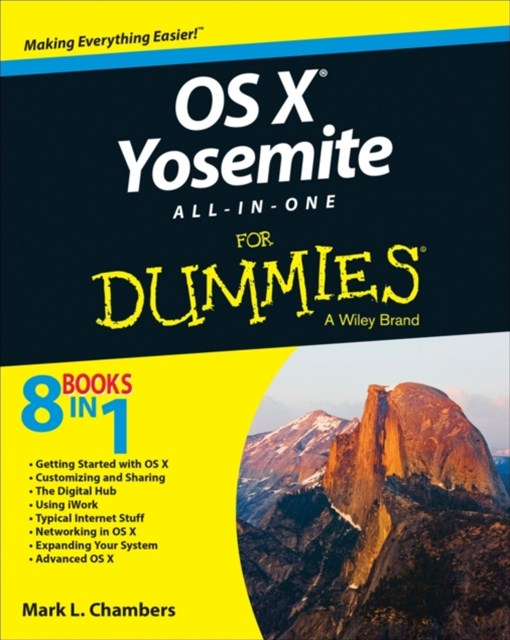 (ebook) OS X Yosemite All-in-One For Dummies