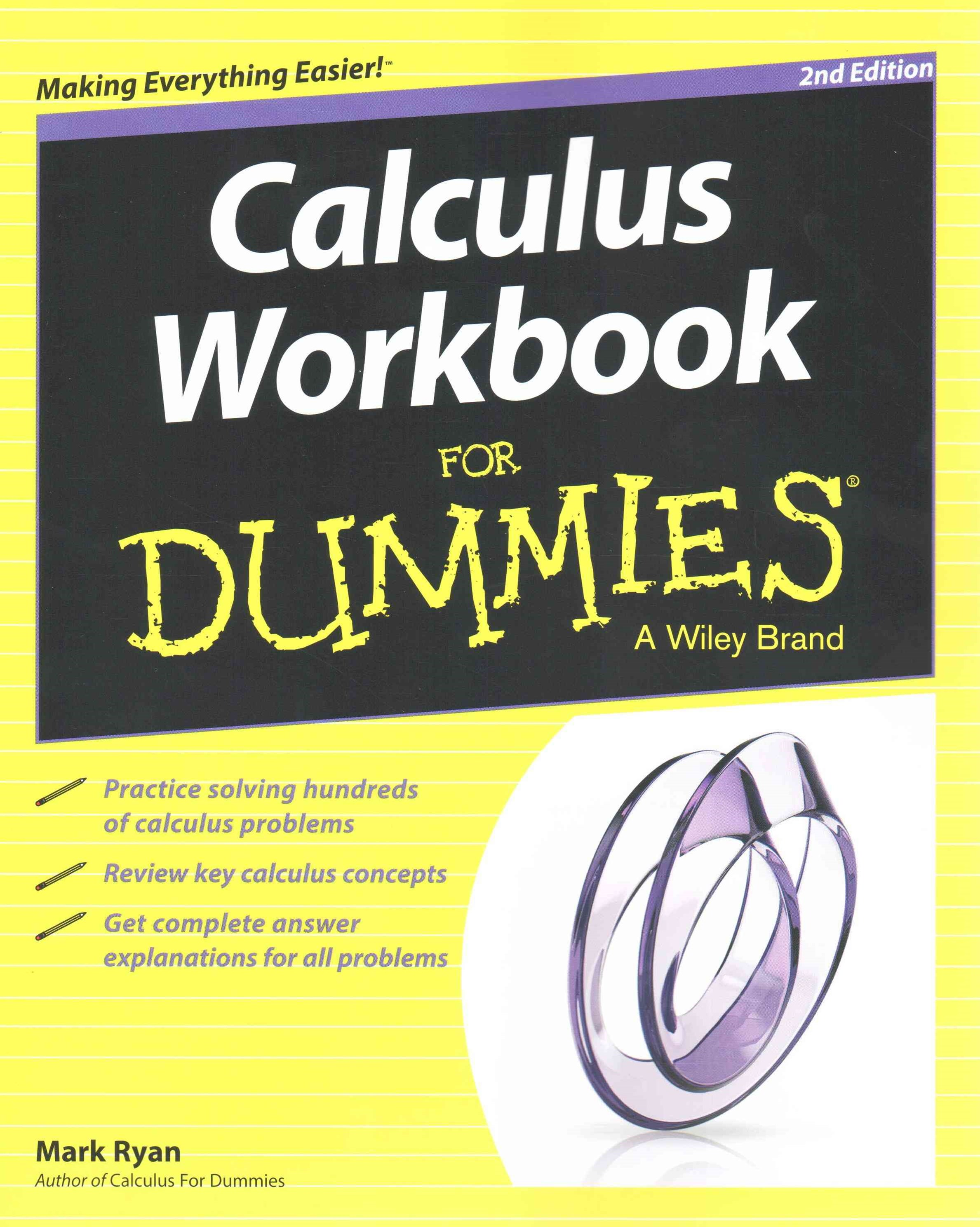 Calculus Workbook for Dummies Second Edition