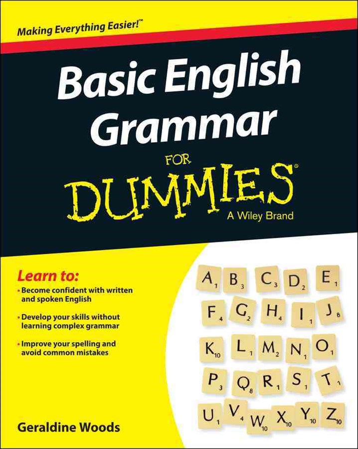 Basic English Grammar for Dummies, Us Edition