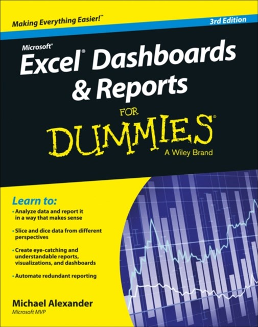 (ebook) Excel Dashboards and Reports for Dummies