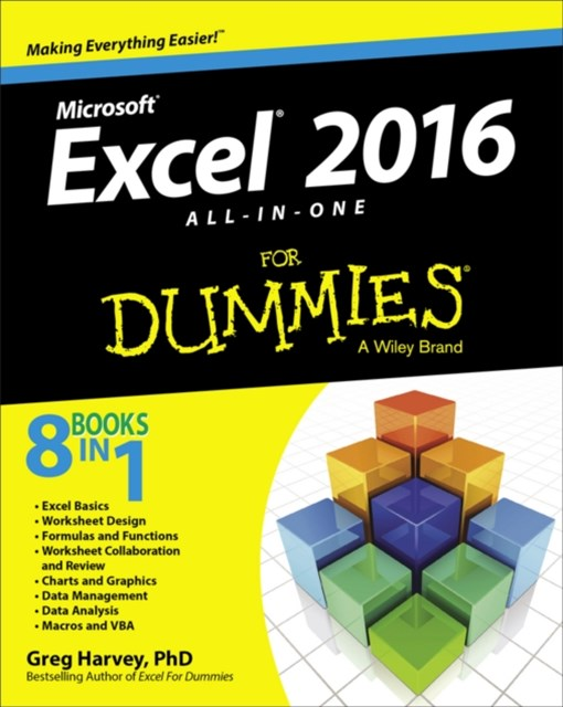(ebook) Excel 2016 All-in-One For Dummies