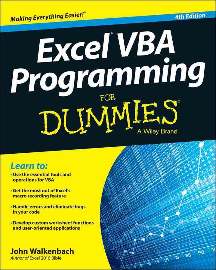 Excel VBA Programming for Dummies, 4th Edition