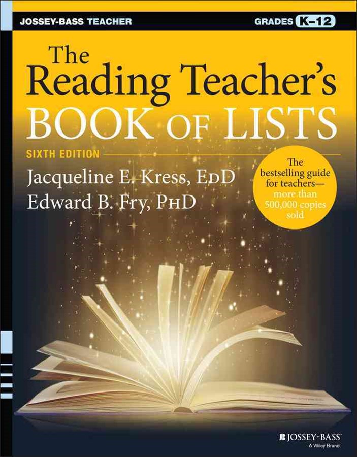 The Reading Teacher's Book of Lists, Sixth Edition