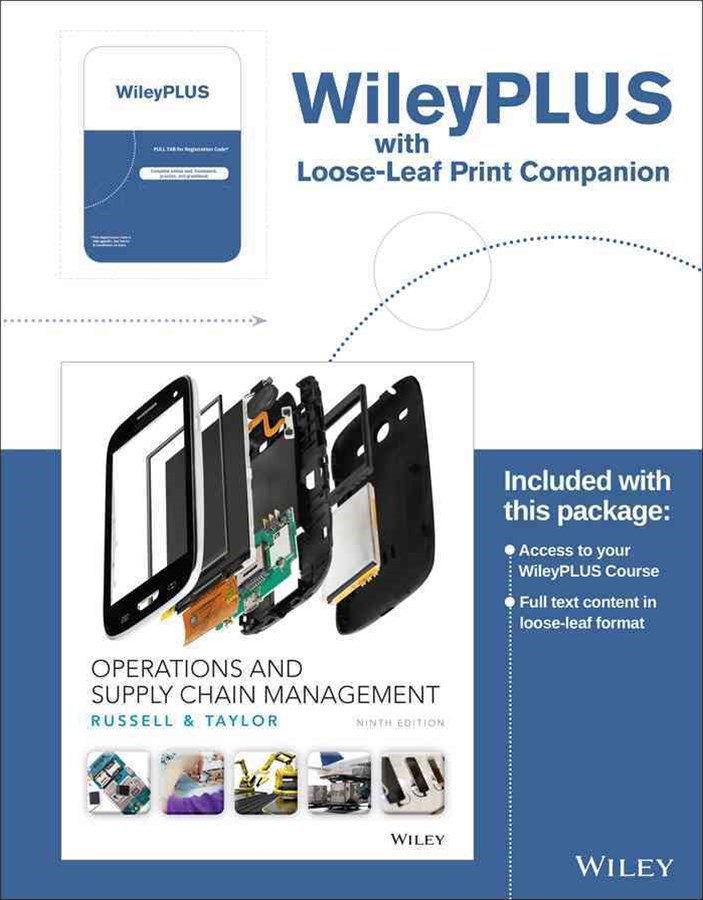 Operations and Supply Chain Management Ninth Edition Binder Ready Version