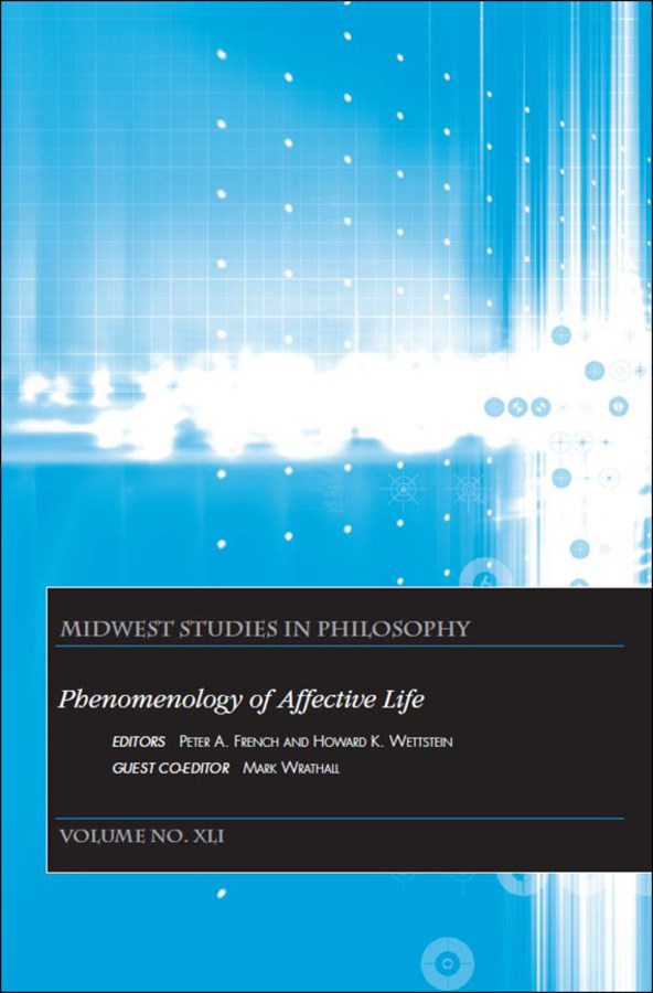 Phenomenology of Affective Life