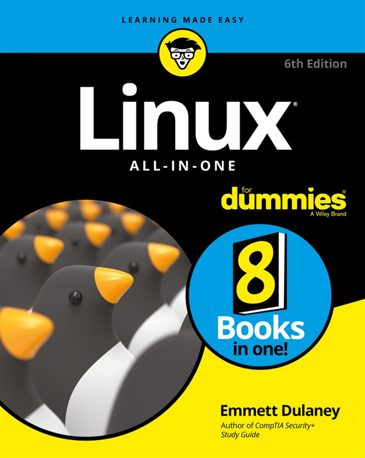 Linux All-In-One for Dummies, 6th Edition