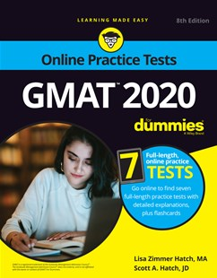 GMAT For Dummies 2020 by Lisa Zimmer Hatch, Scott A Hatch (9781119617945) - PaperBack - Education Trade Guides
