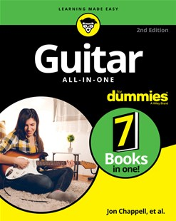 Guitar All-In-One for Dummies, Book + Online Video and Audio Instruction by Hal Leonard Corporation, Mark Phillips, Jon Chappell, Desi Serna (9781119731412) - PaperBack - Entertainment Music Technique