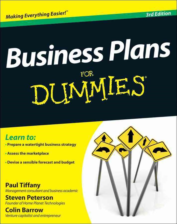 Business Plans for Dummies 3E